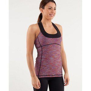 Lululemon Scoop Neck Tank We Are From Space Dye 8